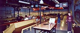 U-Bahn-Bowlinganlage in Snowtropolis