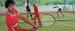 Tennis, Badminton oder Volleyball bei jedem Wetter