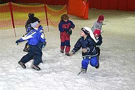 Kindergeburtstag in der Skihalle
